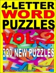 More 4-Letter Word Puzzles cover