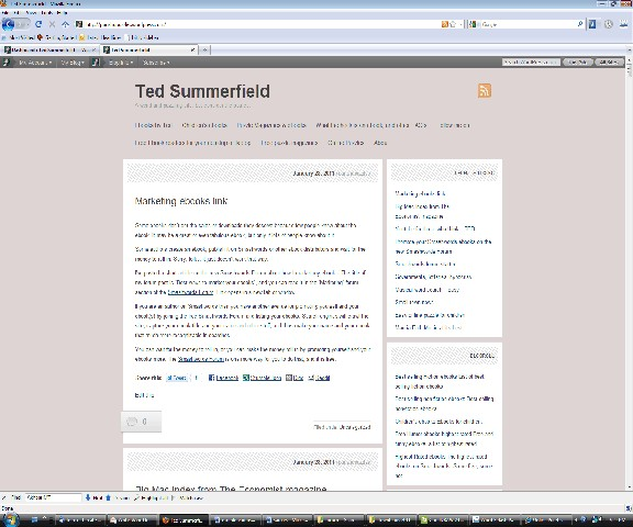 Firefox version of my blog looks right
