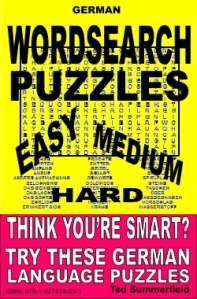 German Word Search Puzzles by Ted Summerfield