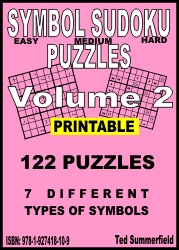 Cover of Symbol Sudoku Puzzles Volume 2 by Ted Summerfield