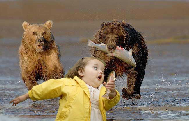 Картинка смешная девочка убегает, работу прикольные картинки