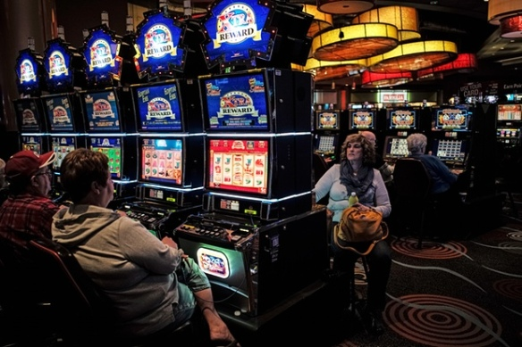 The Wild Horse Pass casino, which brings in millions for the reservation every year. Photograph: Sean Smith for the Guardian