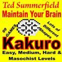 Kakuro Cross Sums puzzle magazine