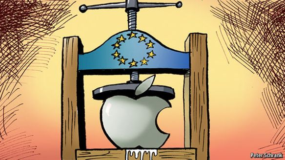 Bruised Apple-Economist Magazine