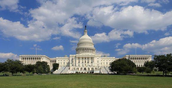 U.S. Capitol. West Side. Wikimedia.